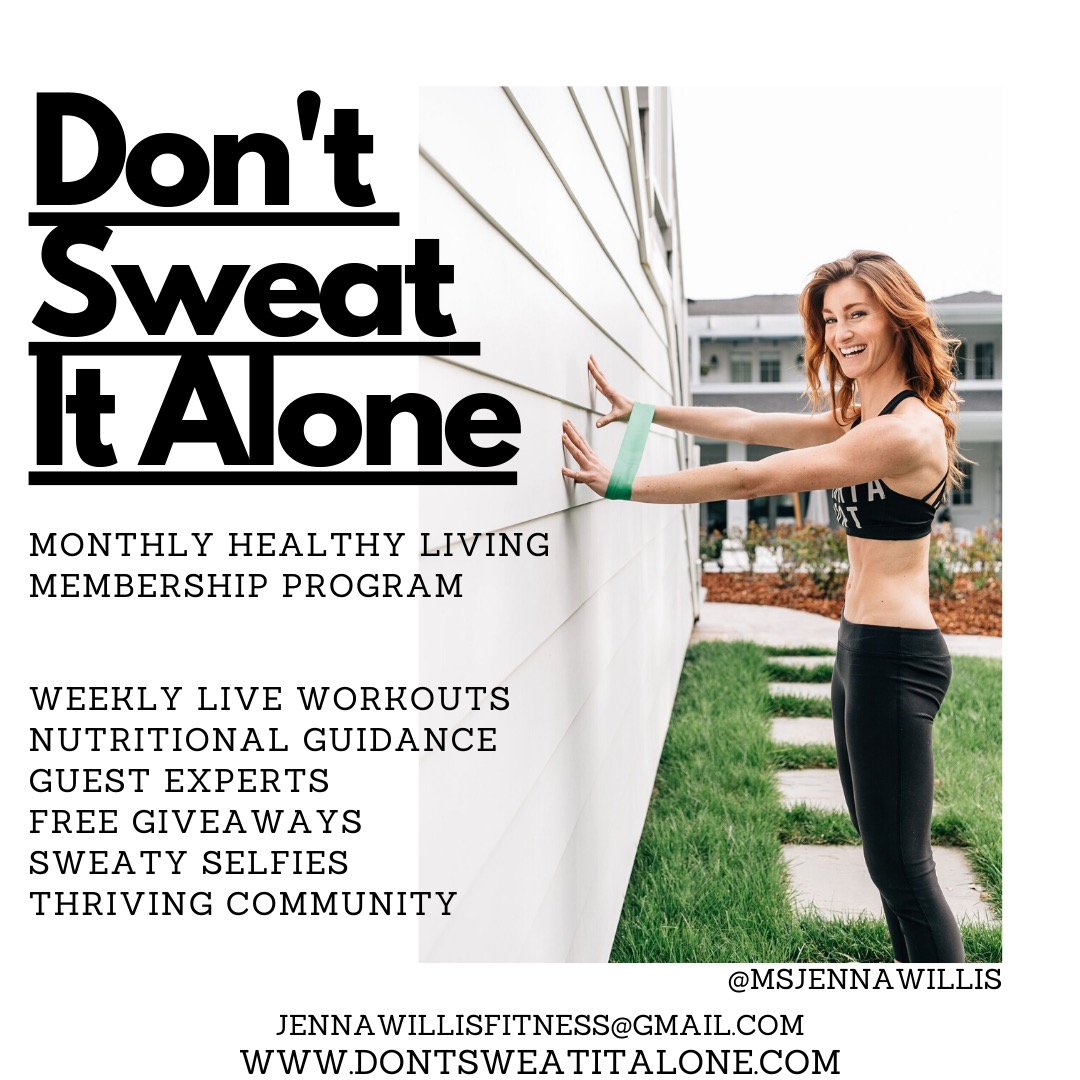 Don't Sweat It Alone MONTHLY corp FLYER (1)