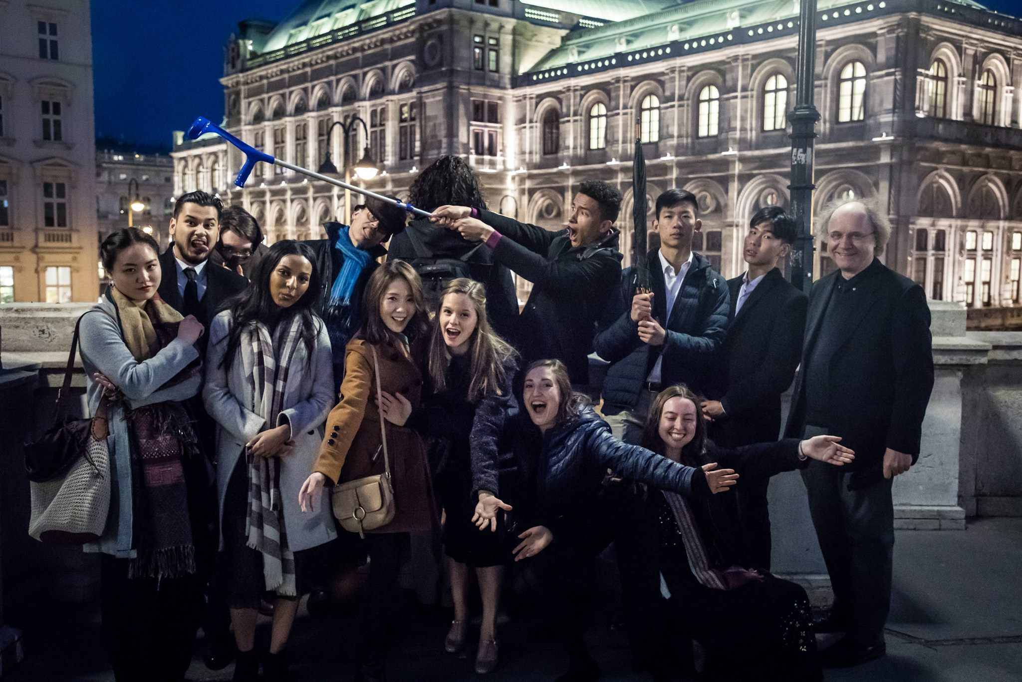 The class visiting Vienna (P.C. Faith WEN)