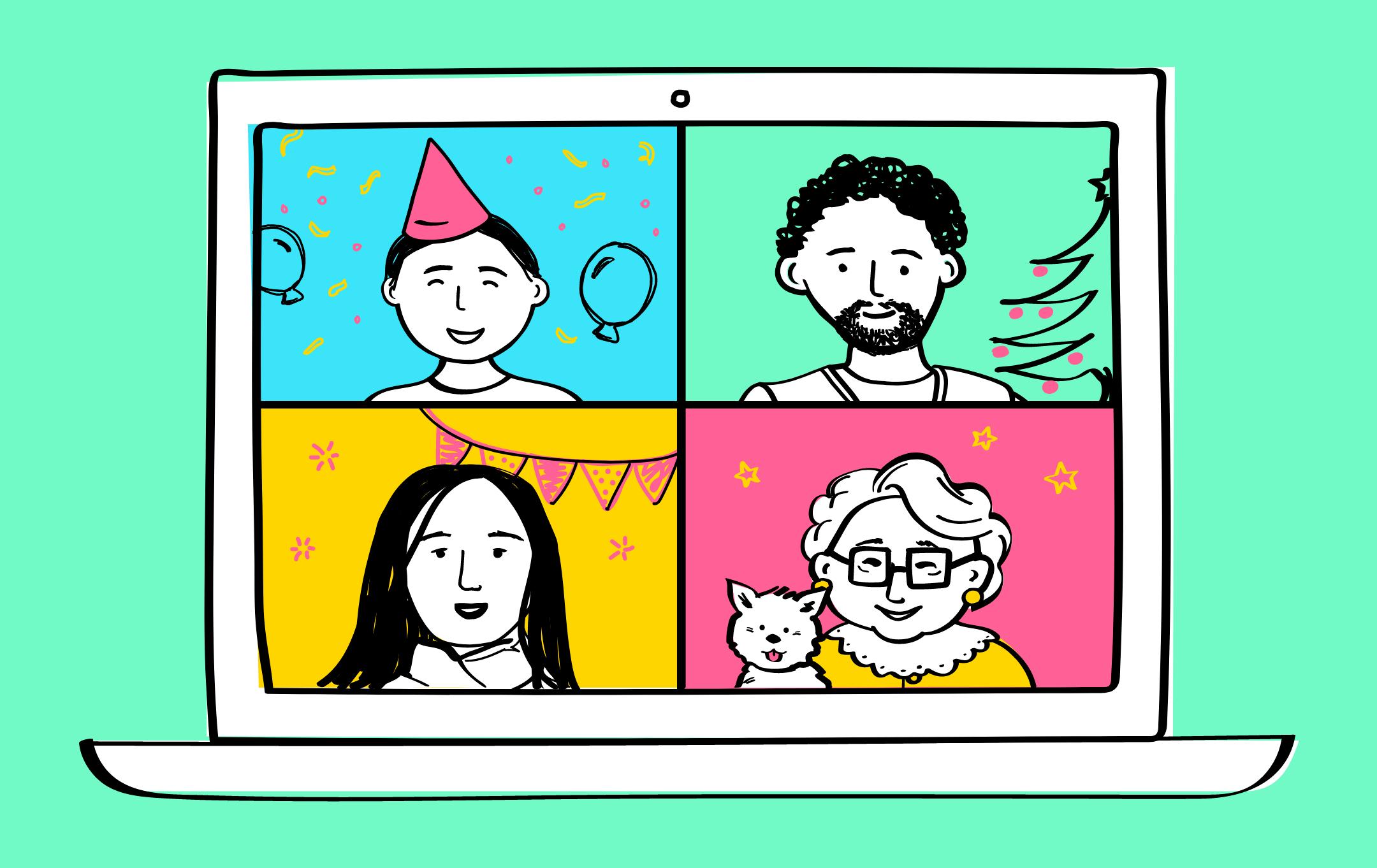 Celebrate virtually